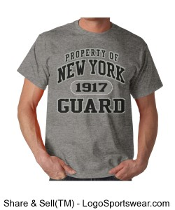 NYG Collegiate Style Tee - Ahtletic Grey Design Zoom